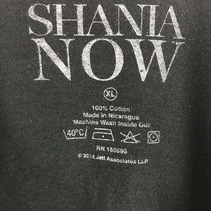 Shania Now Tops - Shania Twain Now Tour 2018 shirt XL